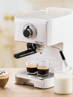 Delimano kavovar espresso