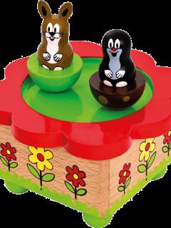 hracia skrinka pre deti krtko