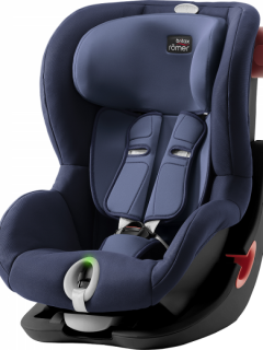 BRITAX RÖMER Autosedačka King II LS (9-18 kg) - Black Moonlight Blue