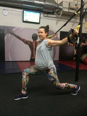 cvičenie tehotné