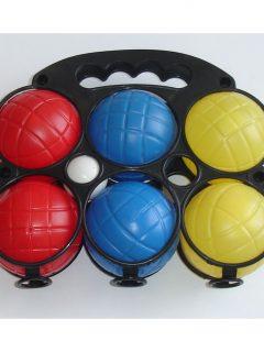 petang plastový 6 farebných gulí