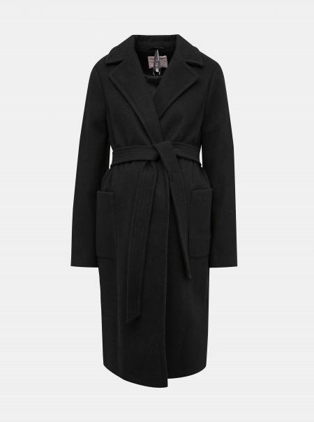 elegantný tehotenský kabát