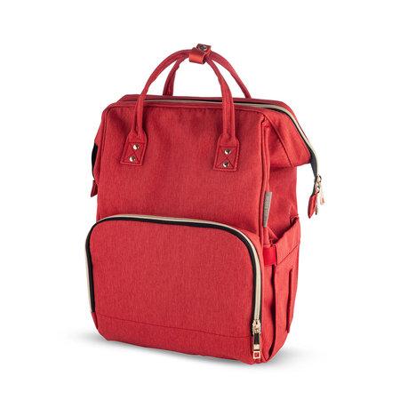 Canpolbabies cerveny batoh na kocik