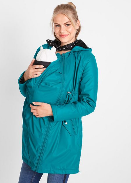 Tehotenská bunda pršiplášť