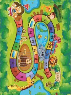 detsky koberec ZOO
