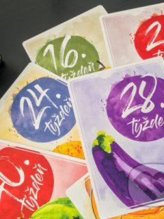 Tehotenské miľníkové kartičky